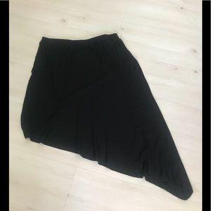 🔥 3 for $25 NWT Apt 9 asymmetrical black skirt